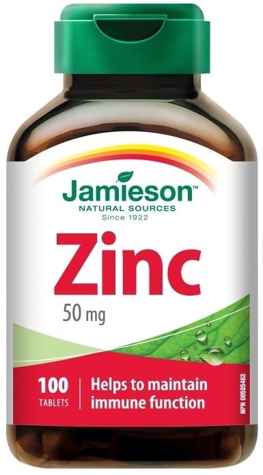 Jamieson Zinok 50mg
