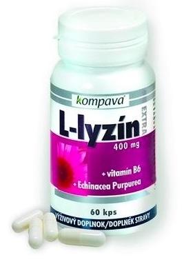 kompava L-LYZÍN EXTRA 400 mg