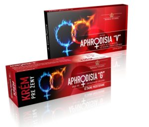 Aphrodisia tabletky + krem pre zeny