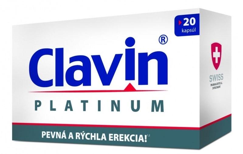 Clavin Platinum - cena, ucinky, davkovanie, skusenosti