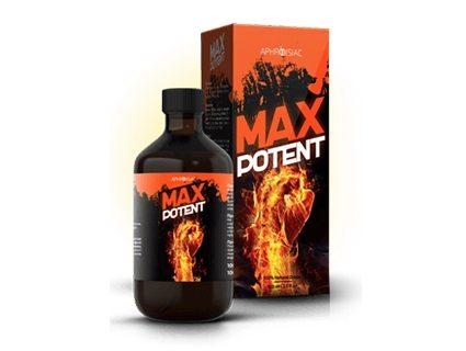 Max Potent recenzia na kvapky + zlozenie, cena a ucinky