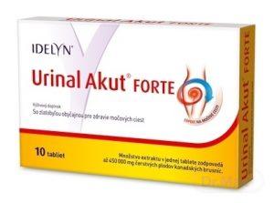 Urinal Akut FORTE: cena, dávkovanie, užívanie + recenzia