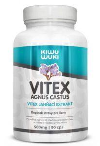 Vitex agnus castus - Vitex jahňací extrakt 2:1 | 500 mg | 90 cps