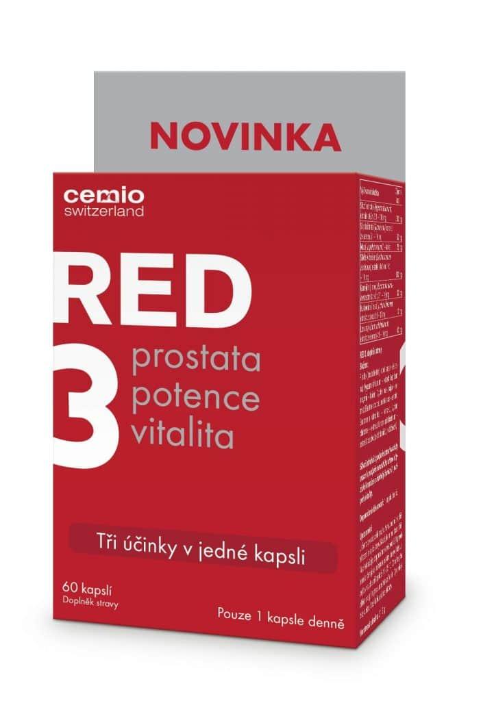 Cemio RED3: recenzie + zloženie, cena, skúsenosti a účinky