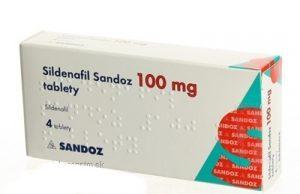 Sildenafil Sandoz: cena, predaj, kde kúpiť, skúsenosti