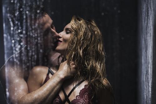 Sexuálne polohy v sprche